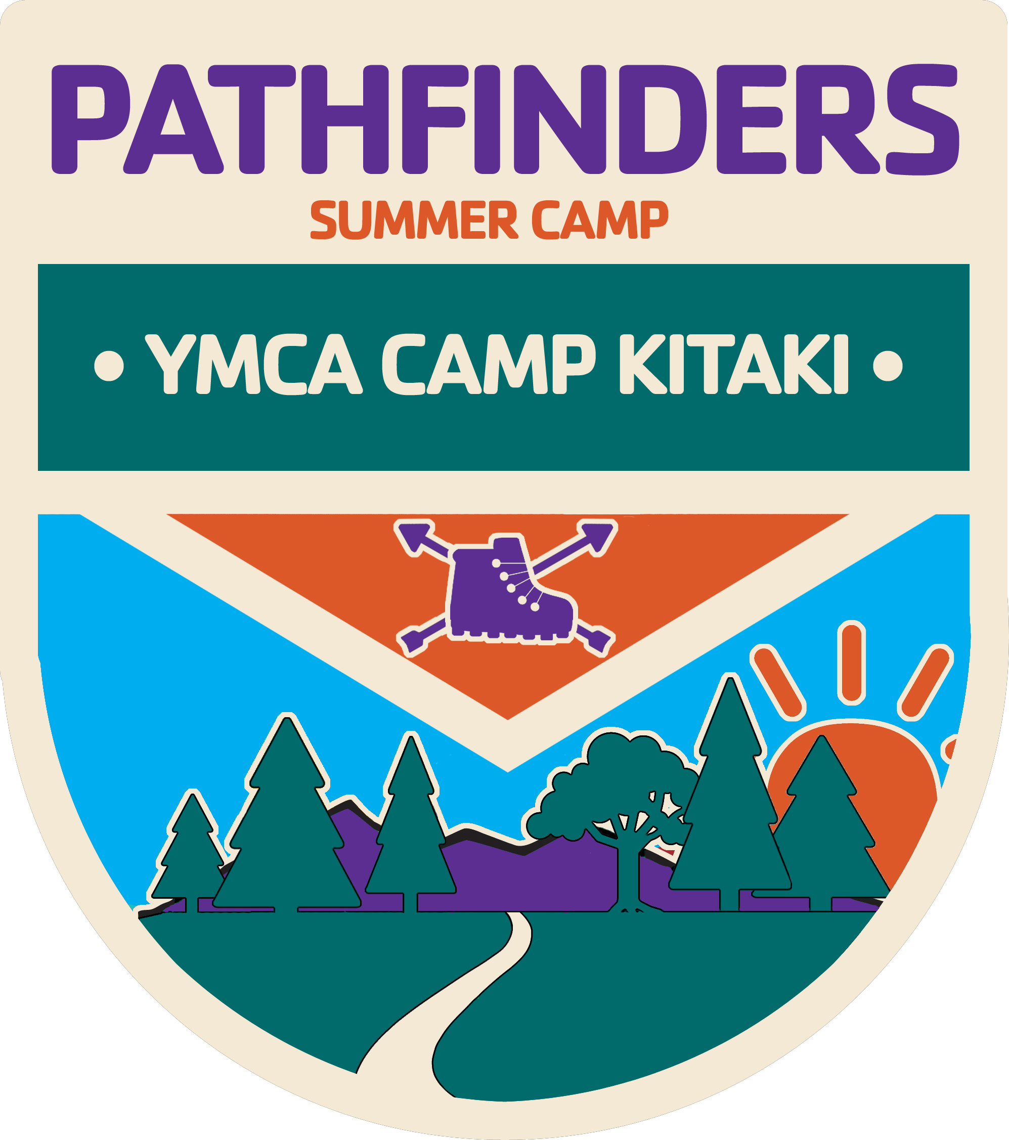 A badge for the Pathfinders camp