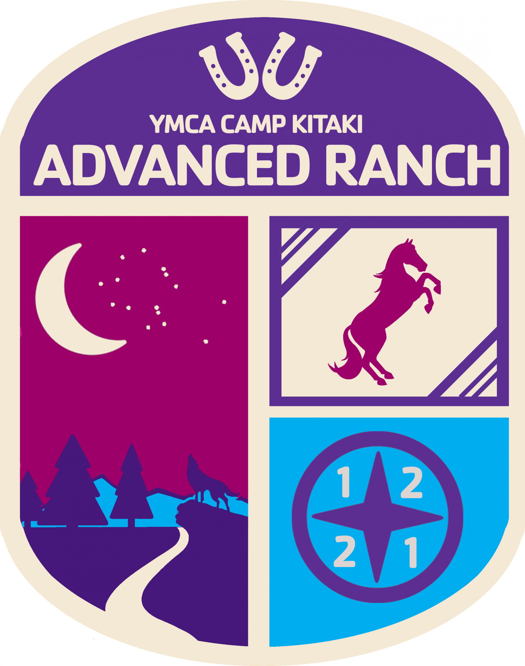 A program badge for Advanced Ranch